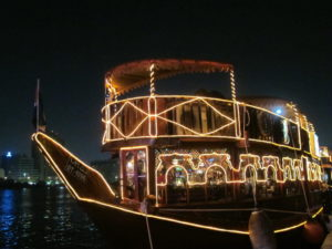Dhow cruise creek Dubai