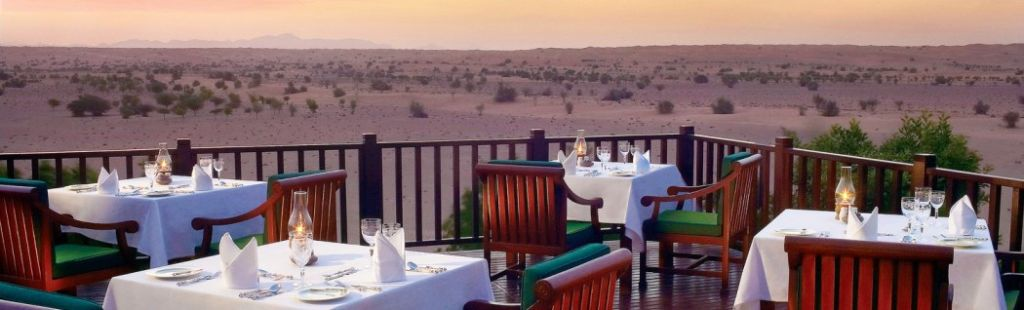 safari no deserto Dubai com snacks em Al Maha Resort