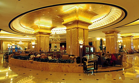 Le Cafe no Emirates Palace hotel