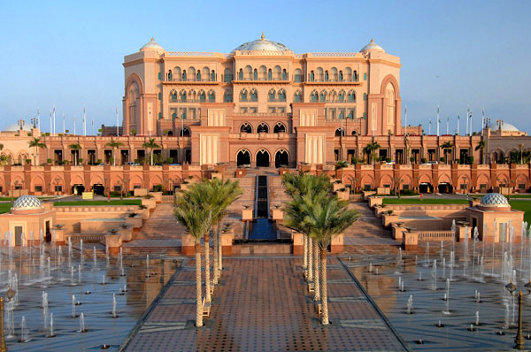Fachada do Emirates Palace