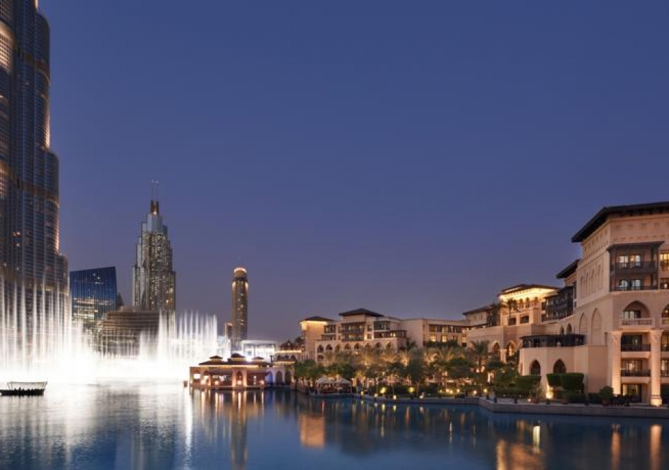The palace Downtown, ao lado do Dubai Mall